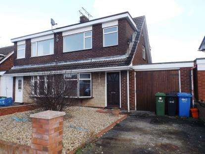 3 Bedrooms Semi Detached House for sale in Violet Grove, Rhyl, Denbighshire, LL18