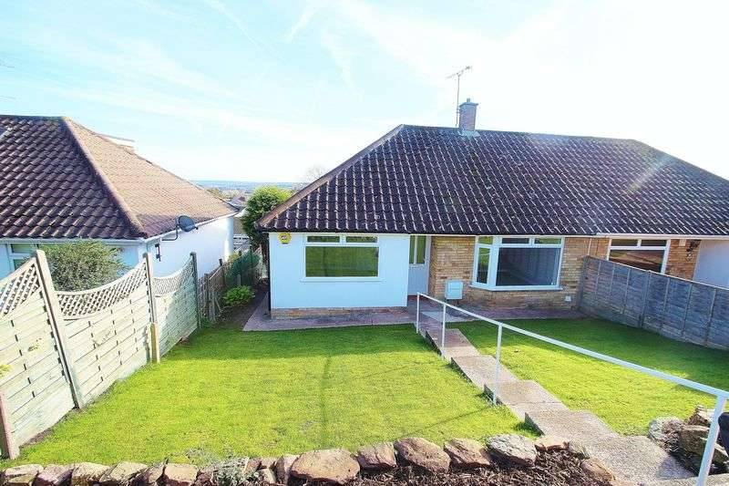 2 Bedrooms Semi Detached Bungalow for sale in Westhill Gardens, Portishead
