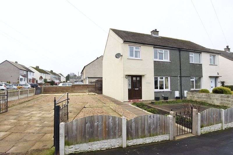 3 Bedrooms Semi Detached House for sale in Shawk Crescent, Thursby