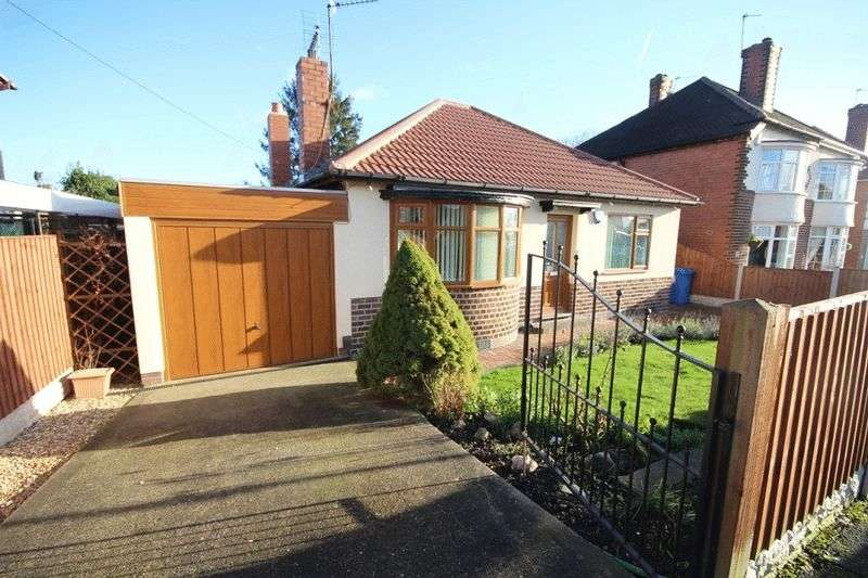 2 Bedrooms Detached Bungalow for sale in CURZON ROAD, CHADDESDEN
