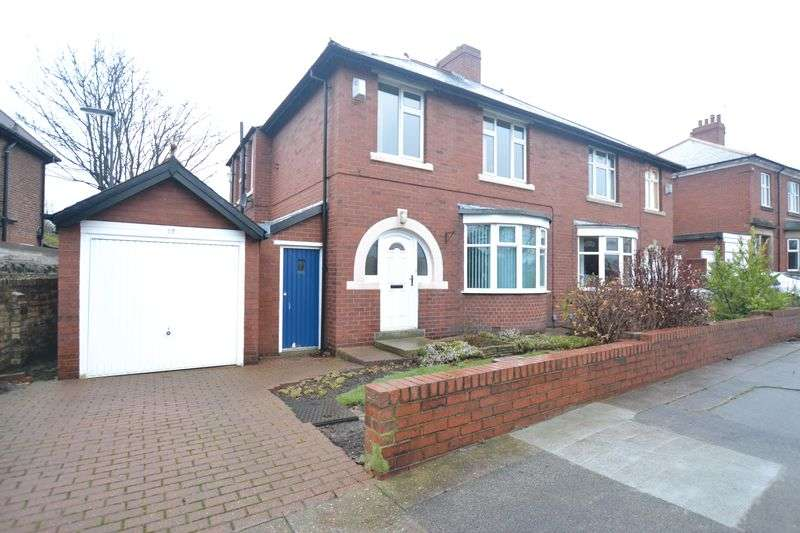 3 Bedrooms Semi Detached House for sale in Jesmond Park West, Newcastle Upon Tyne
