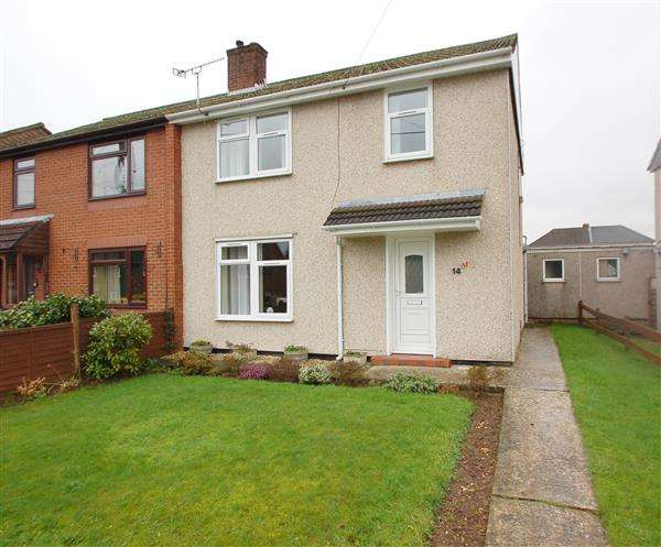 3 Bedrooms Semi Detached House for sale in HARRISON WAY, LYDNEY