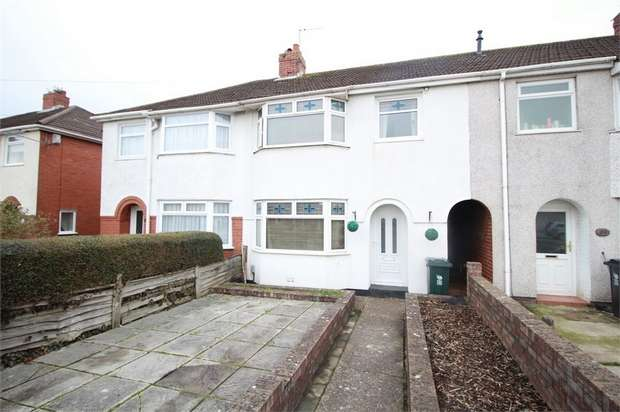 3 Bedrooms Terraced House for sale in Greenmeadow Road, NEWPORT