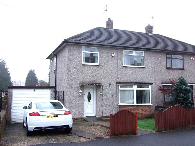 3 Bedrooms Semi Detached House for sale in Greenland Avenue, Mackworth, Derby, Derbyshire, DE22