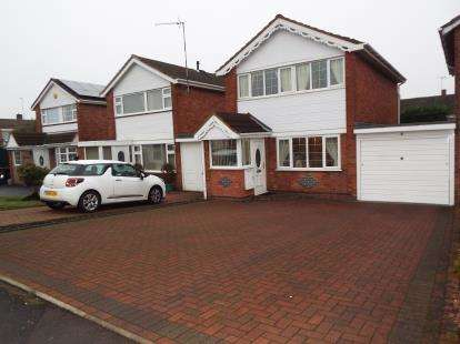 3 Bedrooms Link Detached House for sale in The Raywoods, Nuneaton, Warwickshire