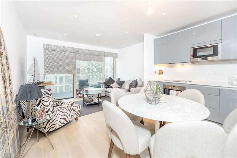 1 Bedroom Property for sale in Rutherford Heights, Trafalgar Place, Elephant And Castle, London, SE17