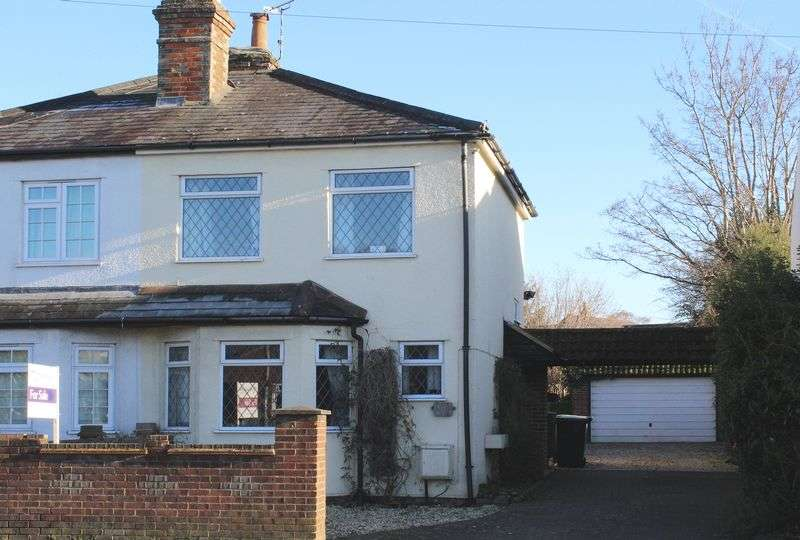 2 Bedrooms Semi Detached House for sale in Sturt Road, Frimley Green