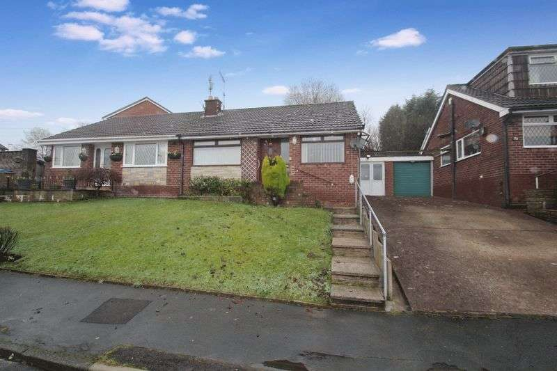 2 Bedrooms Semi Detached Bungalow for sale in Harewood Road, Norden, Rochdale OL11 5TH