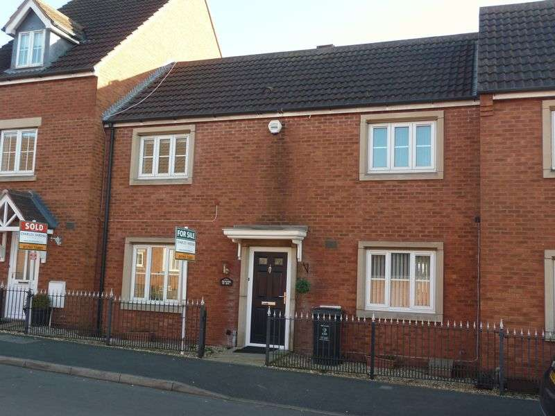 3 Bedrooms Terraced House for sale in Thresher Drive, Abbey Fields