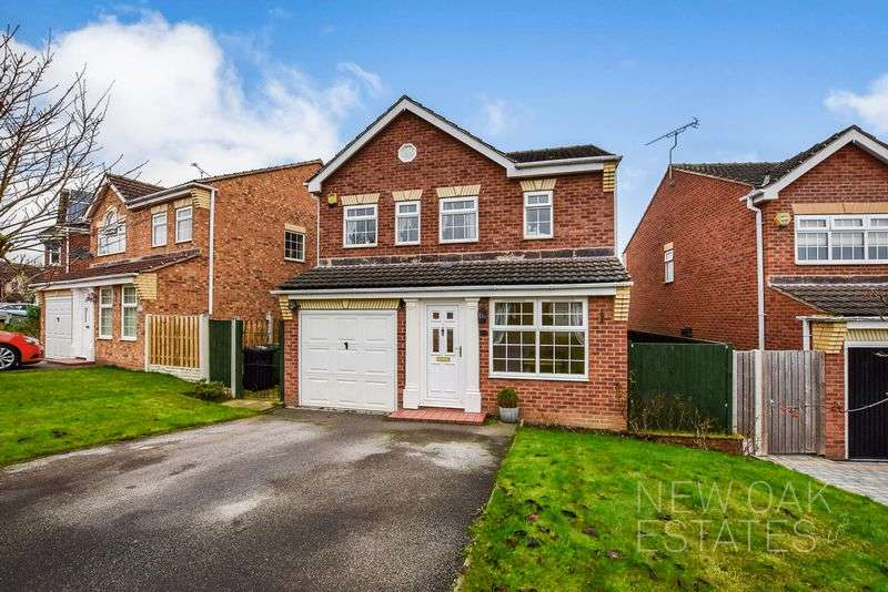 3 Bedrooms Detached House for sale in Bamford Road, Chesterfield