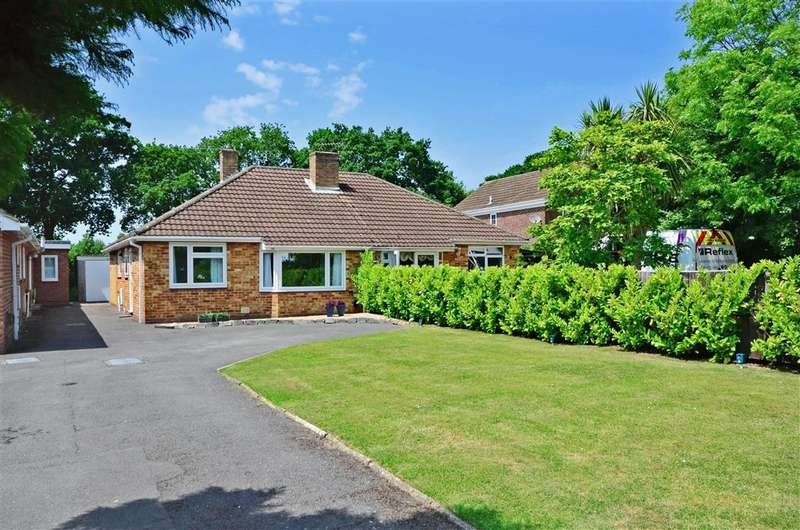 2 Bedrooms Semi Detached Bungalow for sale in Appleton Road, Fareham, Hampshire
