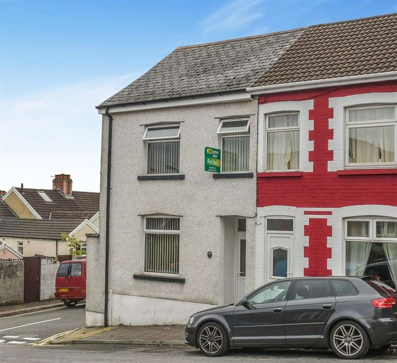 3 Bedrooms End Of Terrace House for sale in Horace Terrace, Llanbradach, Caerphilly