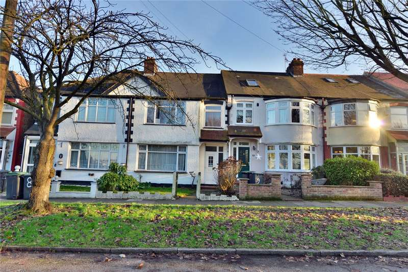 3 Bedrooms Terraced House for sale in Hillside Gardens, Cline Road, Bounds Green, N11