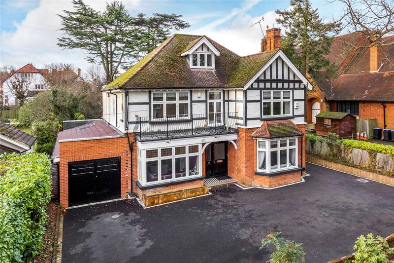 6 Bedrooms Detached House for sale in Mount Hermon Road, Woking, Surrey, GU22