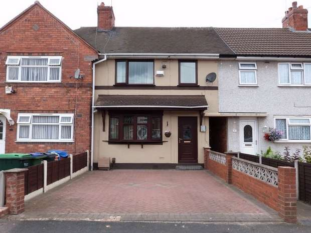 2 Bedrooms Terraced House for sale in Coronation Road, WEDNESBURY, West Midlands