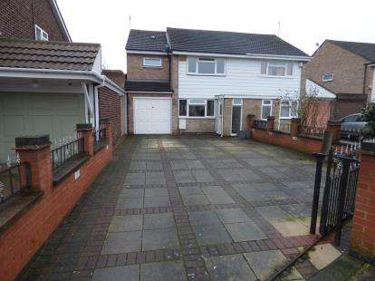 3 Bedrooms Semi Detached House for sale in Badminton Road, Leicester