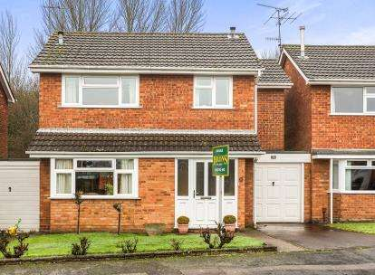 3 Bedrooms Link Detached House for sale in Kent Close, Kidderminster, Worcestershire
