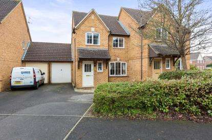 3 Bedrooms Semi Detached House for sale in Hudson Way, Swindon, Wiltshire