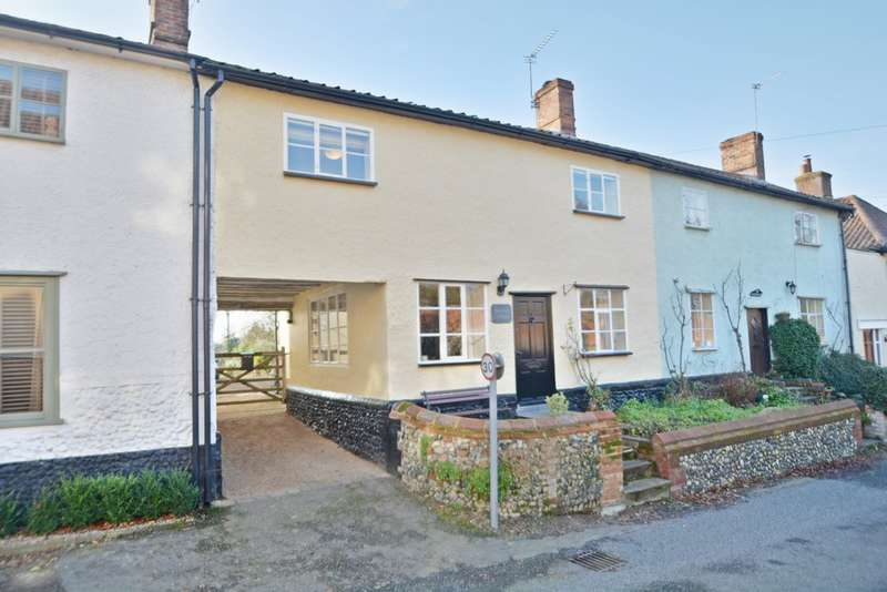 3 Bedrooms Terraced House for sale in West Church Street, Kenninghall