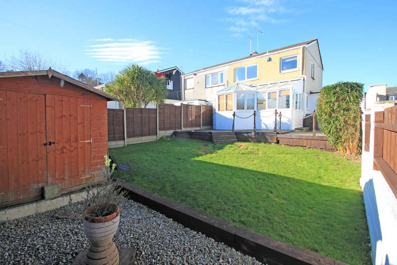 3 Bedrooms Semi Detached House for sale in Hartley Vale, Plymouth