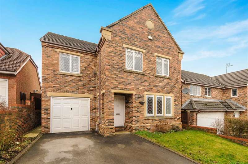 4 Bedrooms Detached House for sale in Spencers Way, Harrogate, HG1 3DN