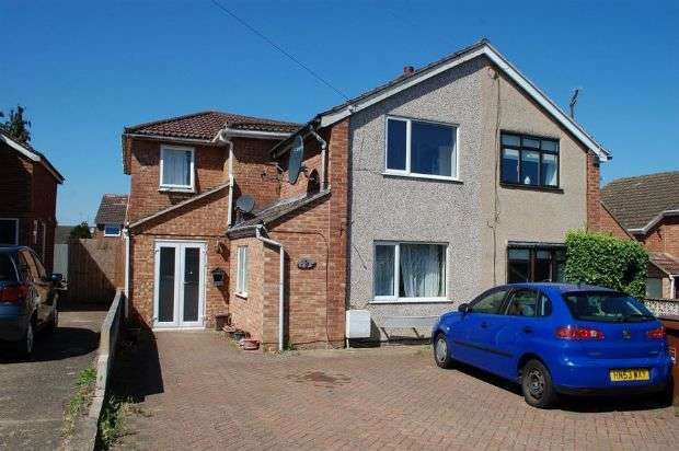 3 Bedrooms Semi Detached House for sale in Lodge Close, Duston, Northampton NN5 6SH