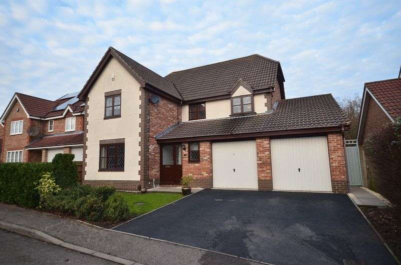 4 Bedrooms Detached House for sale in Dussindale, Norwich