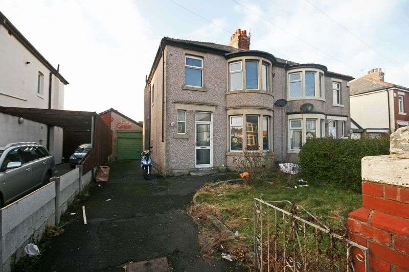 3 Bedrooms Semi Detached House for sale in North Drive, Thornton-Cleveleys