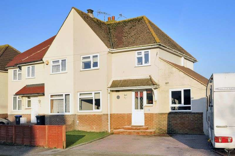 4 Bedrooms Semi Detached House for sale in The Broadway, Lancing
