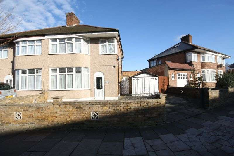 3 Bedrooms Semi Detached House for sale in Carr Road, Northolt