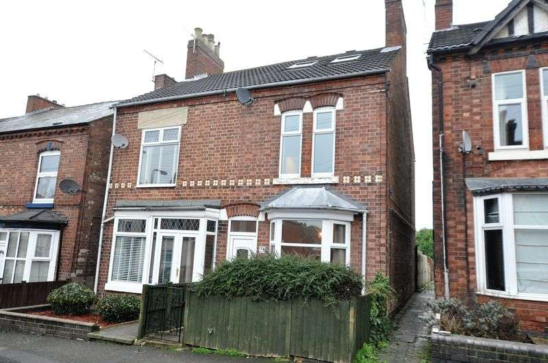 3 Bedrooms Semi Detached House for sale in Frederick Street, Stapenhill