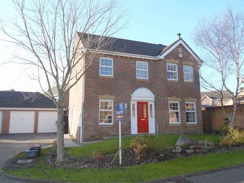 4 Bedrooms Detached House for sale in Pant Poeth Broadlands Bridgend CF31 5BD