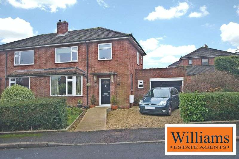 3 Bedrooms Semi Detached House for sale in St Paul Road, Hereford