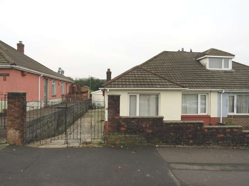 2 Bedrooms Semi Detached Bungalow for sale in Llanllienwen Close, Ynysforgan, Swansea