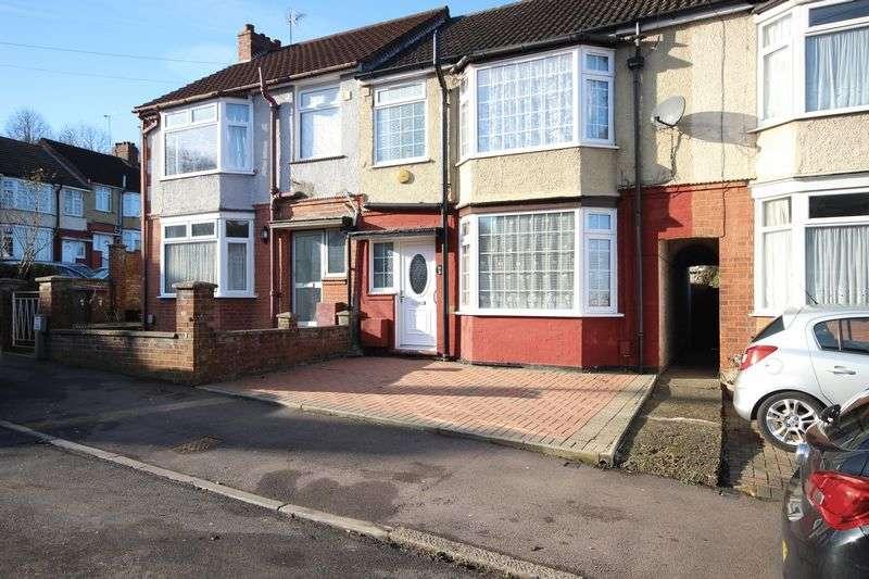 3 Bedrooms Terraced House for sale in Warren Road, Luton