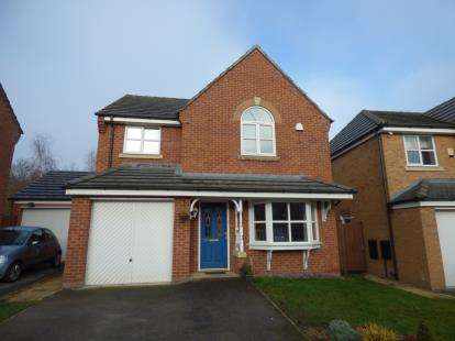 4 Bedrooms Detached House for sale in St. Giles Park, Gwersyllt, Wrexham, Wrecsam, LL11