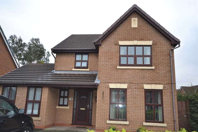 4 Bedrooms Detached House for sale in Vanbrugh Grove, Wigan