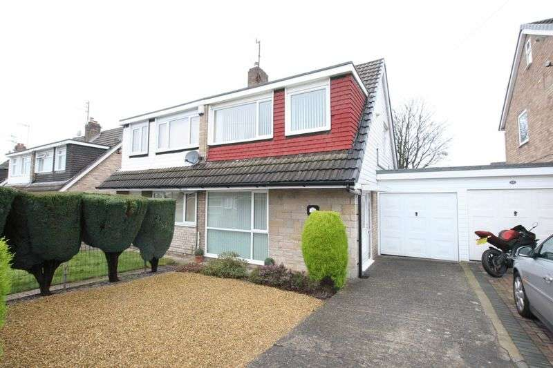 3 Bedrooms Semi Detached House for sale in Pleasington Drive, Prenton, Wirral