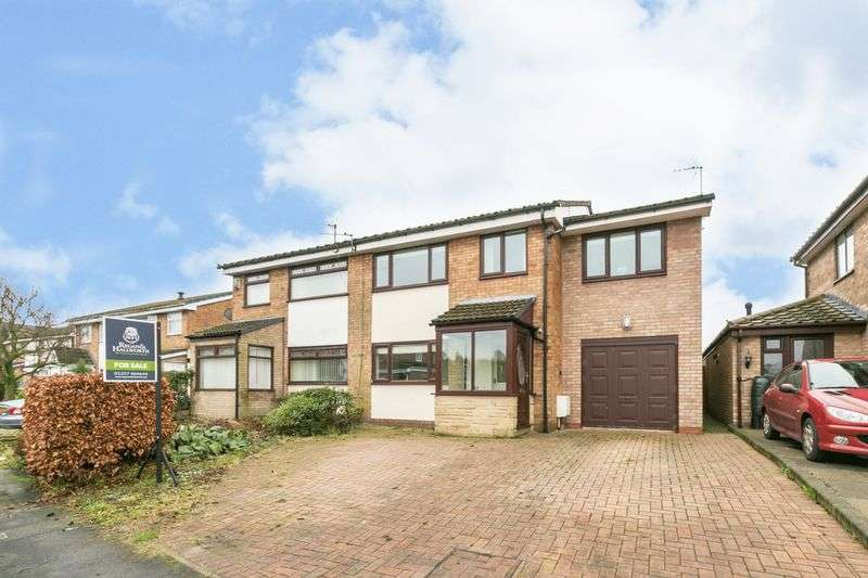 4 Bedrooms Semi Detached House for sale in Woodrow Drive, Newburgh, WN8 7LB