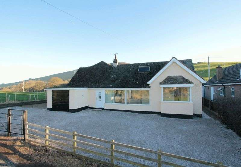 4 Bedrooms Detached Bungalow for sale in Clwyd Gate Bungalows, Llanbedr Dyffryn Clwyd, Ruthin