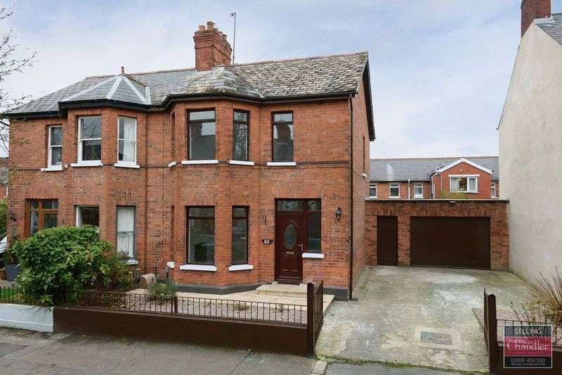 3 Bedrooms Semi Detached House for sale in 95 Deramore Avenue, Belfast, BT7 3ES