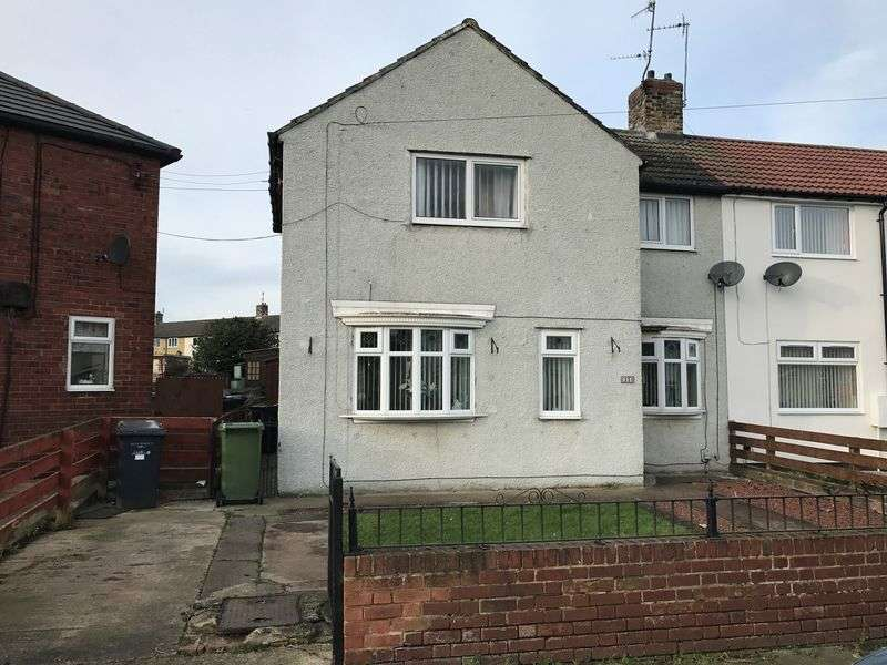 3 Bedrooms Semi Detached House for sale in Jutland Avenue, Hebburn