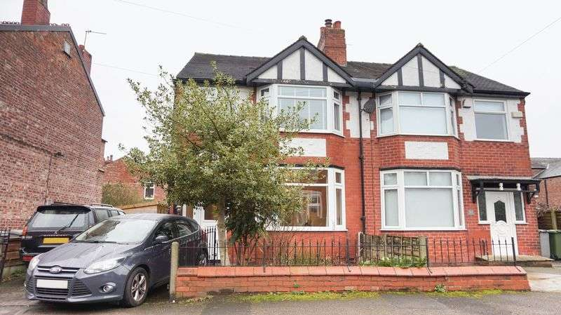 3 Bedrooms Semi Detached House for sale in Grosvenor Road, Manchester
