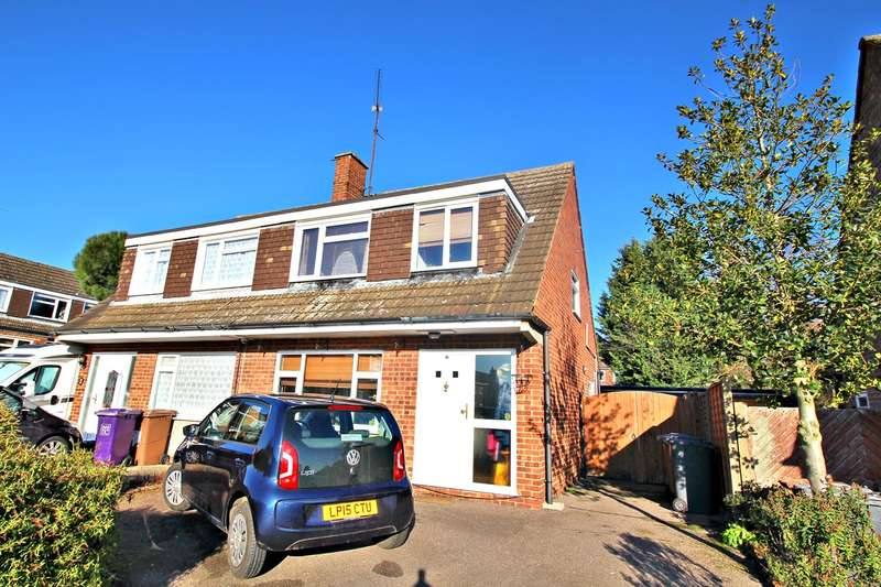 3 Bedrooms Semi Detached House for sale in Passingham Avenue, Hitchin, SG4