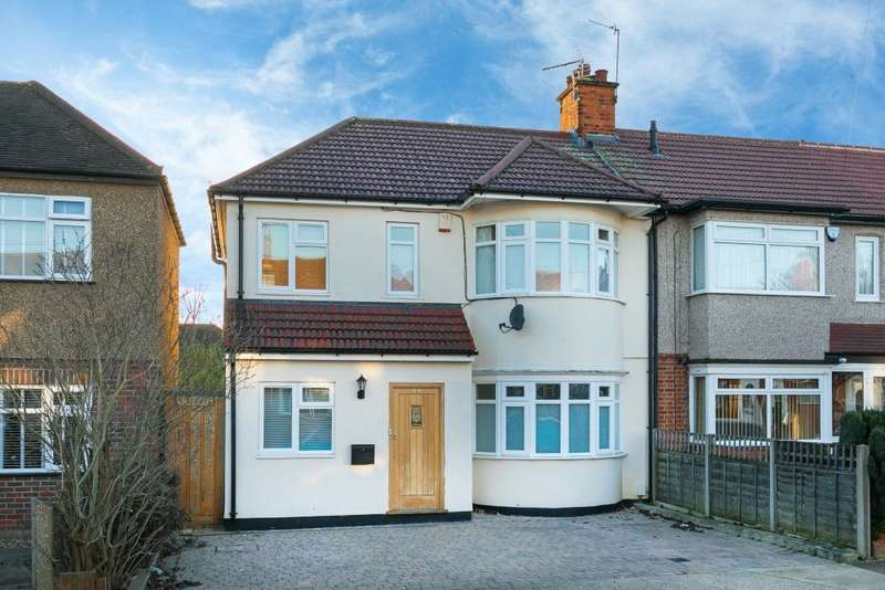 4 Bedrooms Terraced House for sale in Dulverton Road, Ruislip Manor, Middlesex, HA4