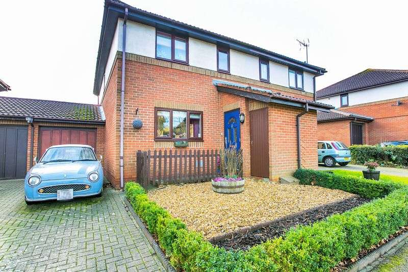 3 Bedrooms Semi Detached House for sale in Dunchurch Dale, Walnut Tree, Milton Keynes
