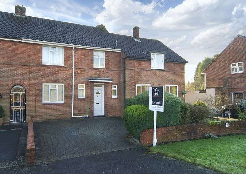 3 Bedrooms Terraced House for sale in Penk Rise, Tettenhall Wood, Wolverhampton