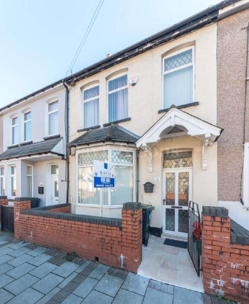 2 Bedrooms Terraced House for sale in Bishton Street, Off Corporation Road, Newport. NP19 0DE