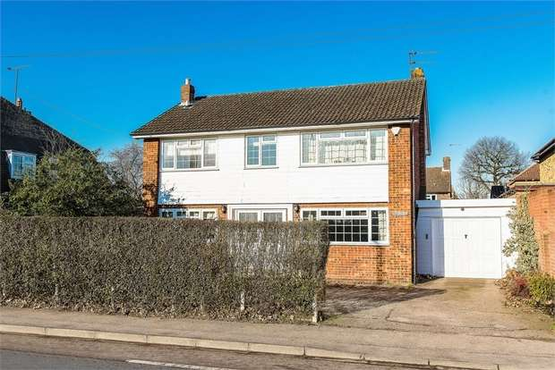 4 Bedrooms Detached House for sale in Esher Road, Hersham, WALTON-ON-THAMES, Surrey