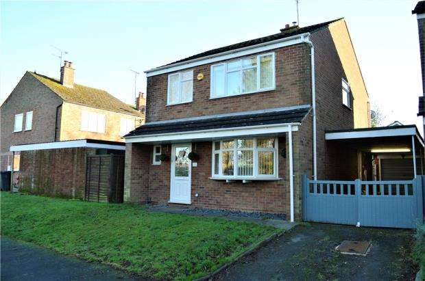 4 Bedrooms Detached House for sale in Antrobus Close, Hatton, Warwick, Warwickshire